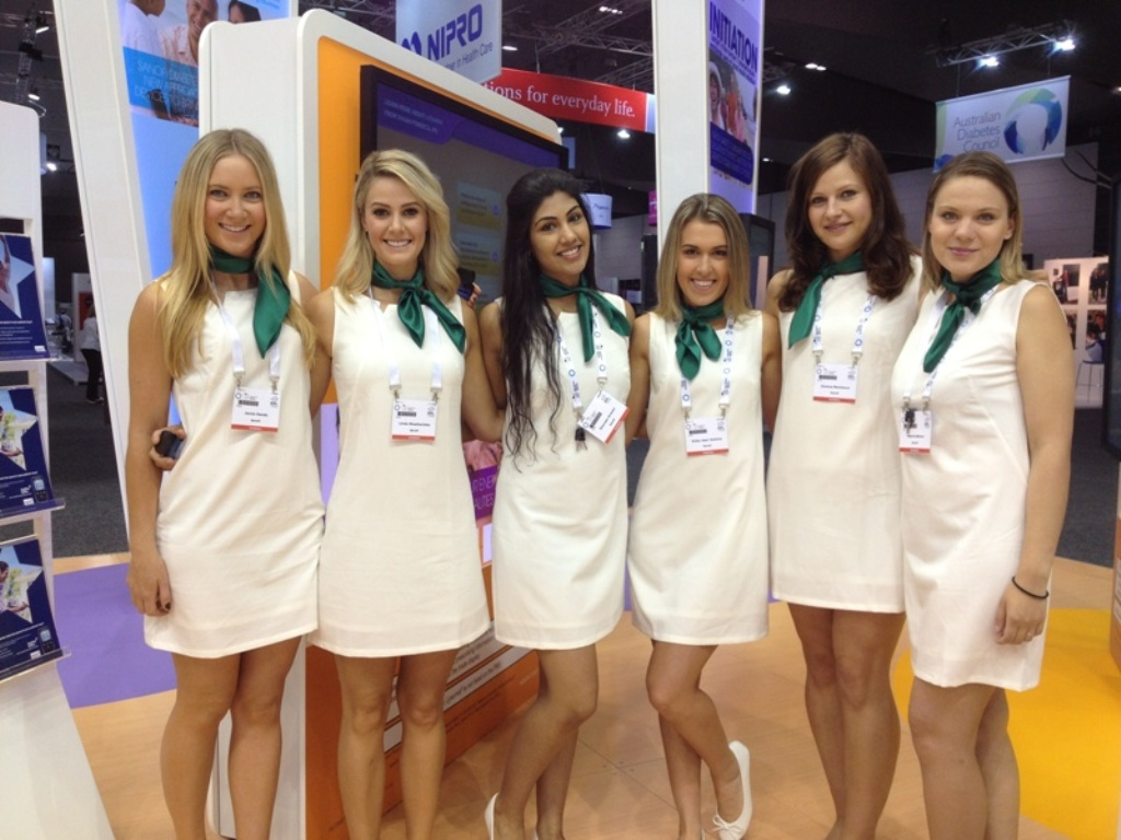 2013 Exhibition staff